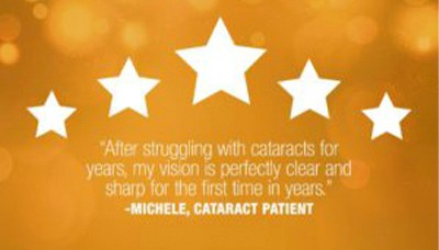 review of a cataract patient
