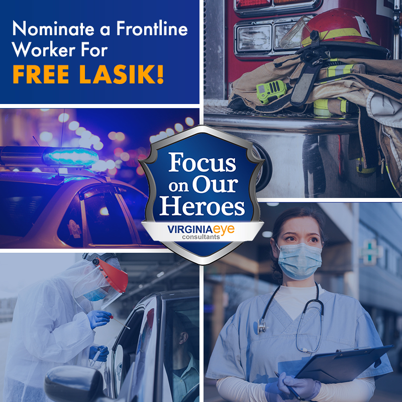 Focus on Heroes First Responders Paramedics Police Win Free LASIK