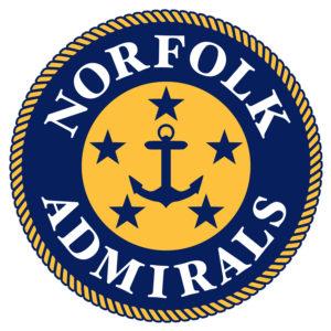 Admirals White Jersey Logo