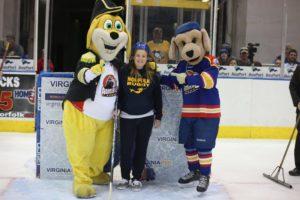 Mascots Winner Kaitlyn