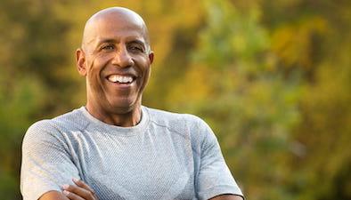 active older man