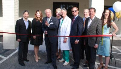 Doctors inaugurating at vec