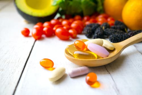 spoonful of vitamin pills